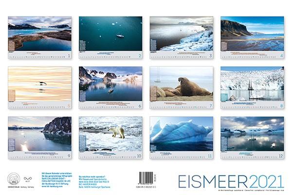"""365 Tage etwas Gutes tun: Mit dem Kalender """"Eismeer 2021"""""""